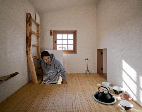 japanese tea house fujimori terunobu coal